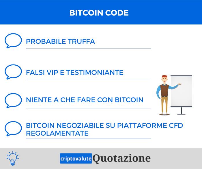 Bitcoin Code Recensione
